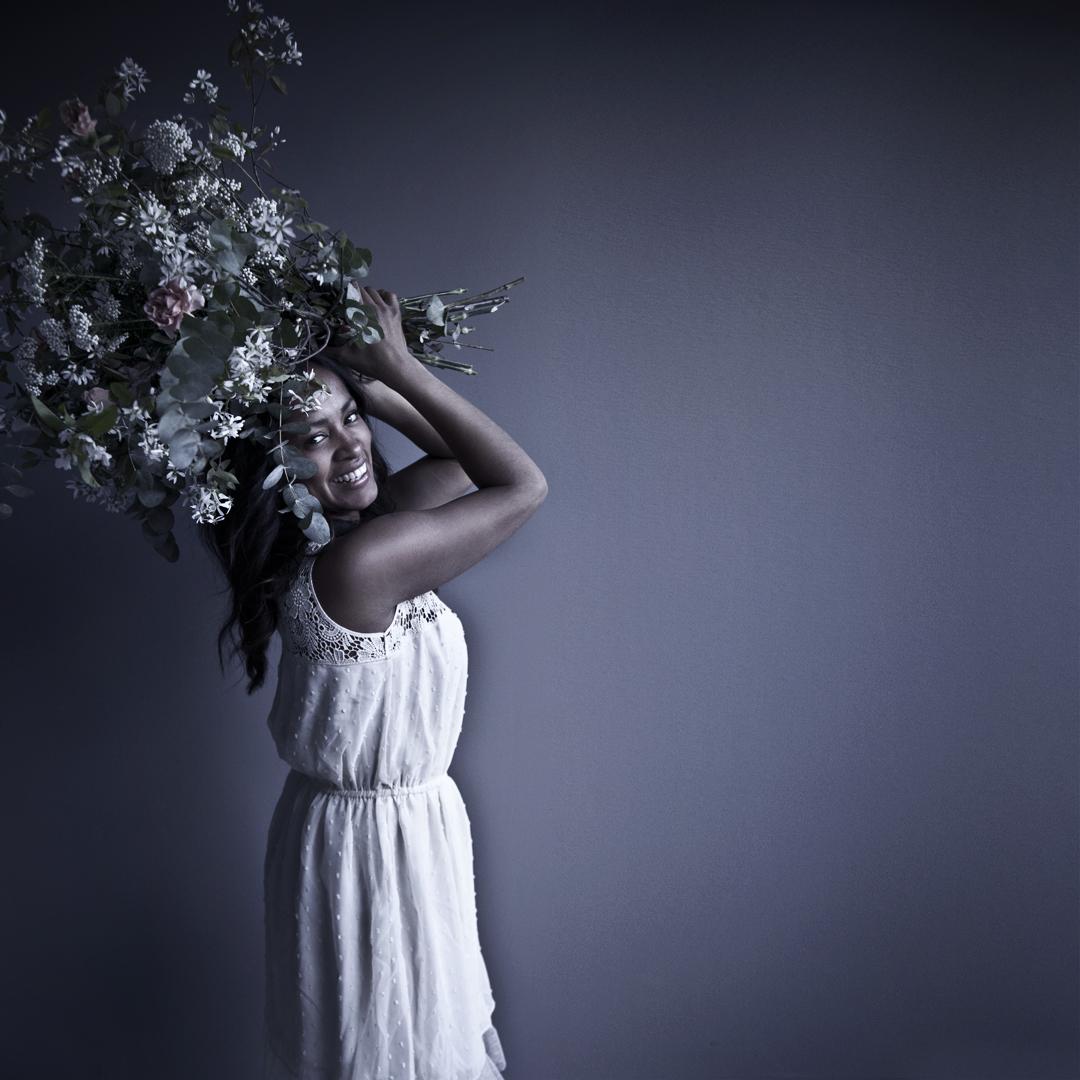 Blombukett Alla hjärtans dag