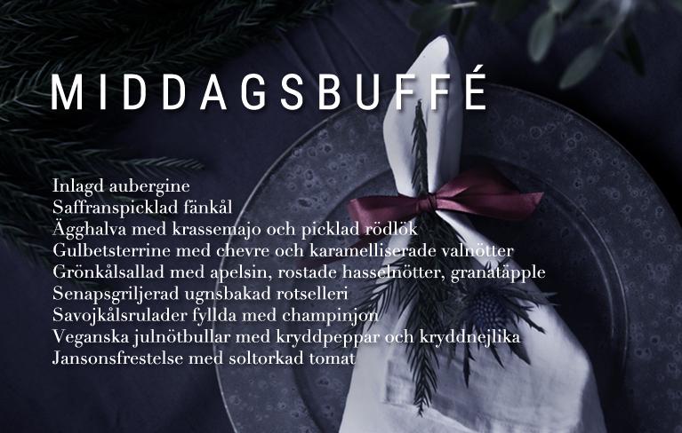 Middagsbuffé