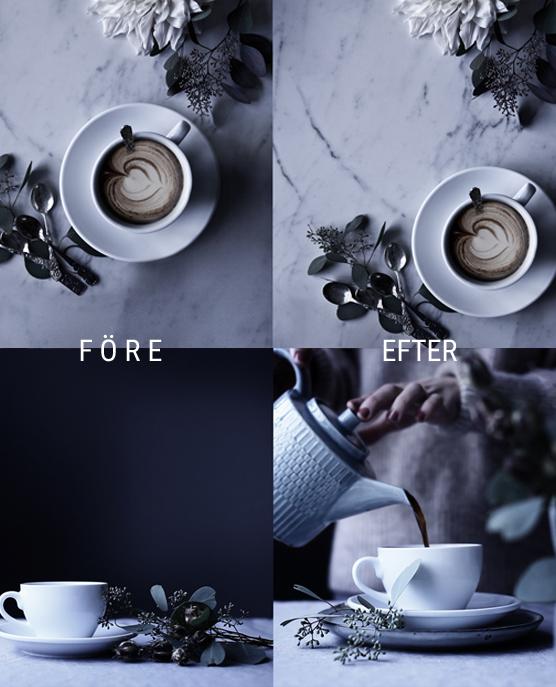 Styling före och efter