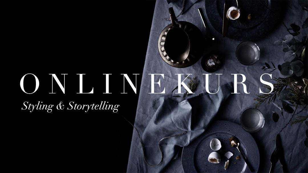 Onlinekurs inom styling & berättande fotografi
