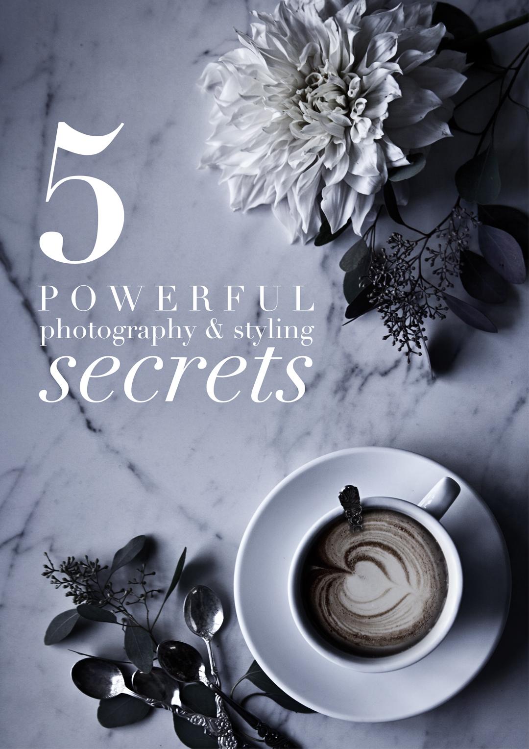 photography & styling secrets