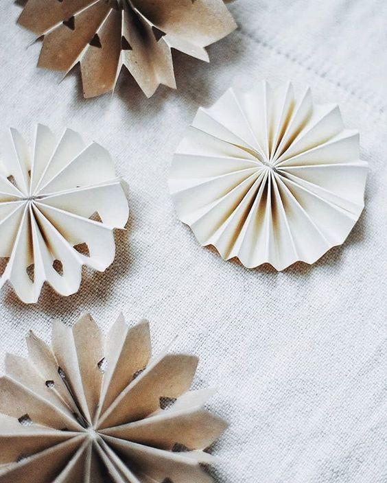 DIY pappersstjärna