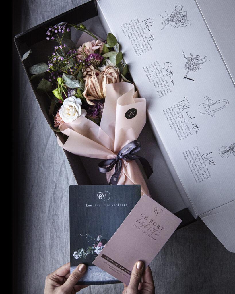 Blomprenumeration i lyxig box