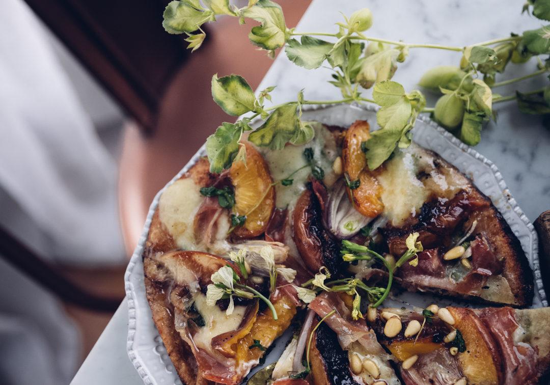 Ingridienser till annorlunda pizza